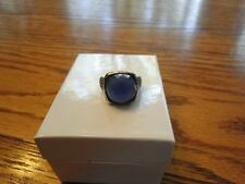 NIB COCKTAIL RING W/ 10.50CTW GENUINE CHALCEDONY CRAFTED IN 925 STERLING SILVER
