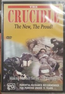 THE CRUCIBLE THE NEW THE PROUD RARE DVD MAKING MARINES FOR THE 21ST CENTURY FILM