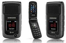Unlocked Samsung Rugby II SGH - A847 - Black (AT&T) Cellular Phone