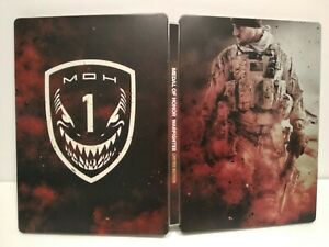 Medal of Honor Warfighter Limited Edition Steelbook -Sans jeu -Neuf sans blister
