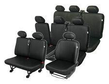 Mercedes Vito 9-Sitzer Sitzbezüge Sitzschoner Set  robuste Kunstleder Premium
