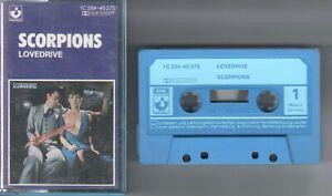 Scorpions    MC / Tape / Kassette   Lovedrive    © 1979  EMI