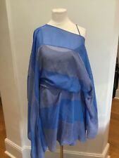 Amanda Wakeley Caftan Dress One Shoulder