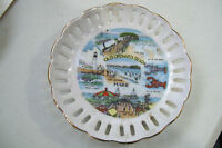 "Old Orchard Beach Maine Decorative Collector 5"" Plate Lobster & Sites"