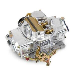 Holley 0-80458SA 600 CFM Classic Holley Carburetor, Electric Choke