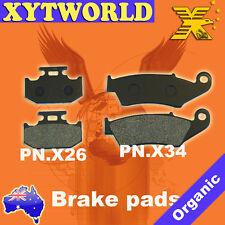 FRONT REAR Brake Pads SUZUKI DR-Z 250 SJ 44 A 2001 2002 2003 2004 2005 2006 2007