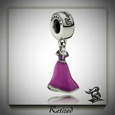 RETIRED Pandora Disney's Rapunzel's Dress Hanging Charm Item No. 791819ENMX