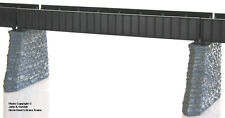 BRASS PBA-1006-1 PONY PLATE GIRDER BRIDGE 1-TRACK 80 FOOT F/P BLACK