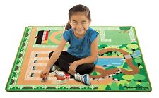 Horse Activity Rug Ranch Horses Fence Kids Mat Play Area Toys Toddlers Fun New