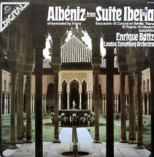 DS-37878 Albeniz Suite Iberia Enrique Batiz 1982 NEAR MINT Angel Digital LP