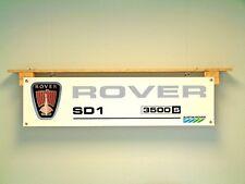 Rover SD1 Banner 3500 V8 se Vitesse Austin Rover Car Show Retro Pantalla de taller