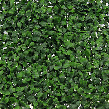 Living Vertical Wall Hanging Artificial Plants Interlocking Tile Hedge Green UV