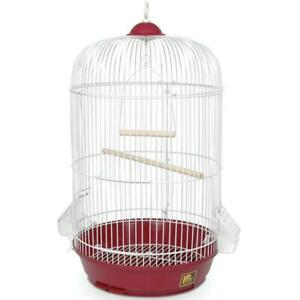 Prevue Pet Products Classic Round Bird Cage Red