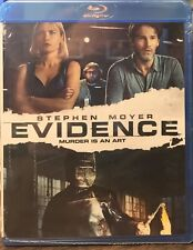 Evidence (Blu-ray Disc, 2013) NEW SEALED