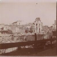 Viaggio IN Italia Roma Foto Amateur Vintage Citrato Ca 1900 #4