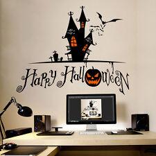 Hot Halloween pumpkin Wall Stickers window decal vinyl stickers HOME party decor