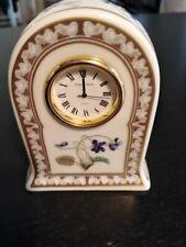 pendulette en porcelaine Haviland pour Hermès