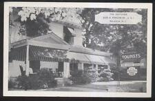 Postcard RALEIGH North Carolina/NC  Restover Tourist Inn/Bed & Breakfast 1930's