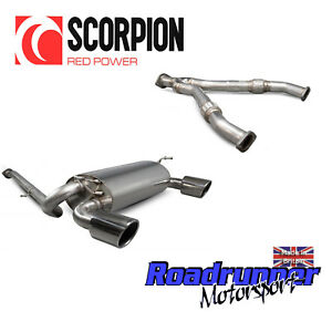 """Scorpion Exhaust Fits 350Z Cat Back System Stainless & Y-Pipe - INDY TRIMS 4"""""""