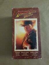 Indiana Jones Trilogy Collector's Edition 3 Tape Set VHS