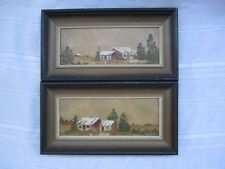 Patricia Pratt - 100% Authentic - Oil On Board - Two Paintings