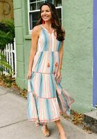 Matilda Jane Sunset Season Dress Size 2XL XX Large New In Bag Womens Maxi