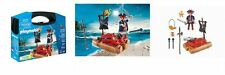 Playmobil - 5655 Pirate Raft Carrying Case - Brand New