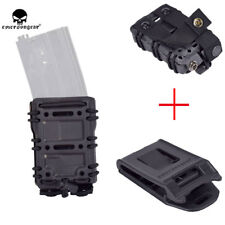 Tactical Magazine Pouch 556 5.56 .223 MAG Holster Bag MOLLE / Belt G-code Style