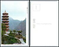 TAIWAN / CHINA Postcard - Taroko Gorge, Pagoda Of Chang Kuang Temple FK