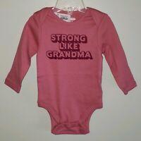 NEW Old Navy Girls 3-6 6-12 MONTHS Short Sleeve Dress LADYBUGS Pink #321618