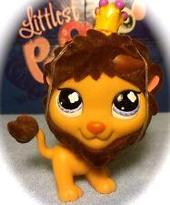 Littlest Pet Shop #809 Brown Lion w/ FUZZY Mane BLEMISHED