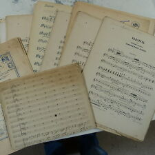 orchestra parts + score PARSIFAL : CHARFREITAGS - ZAUBER wagner