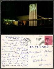 New listing Florida Fort Lauderdale women highway flag restaurant Chrome Vintage Postcard