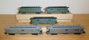 HO GAUGE SCALE TRAIN 19TH CENTURY PASSENGER CARS SOUTHERN UNION CENTRAL PACIFIC