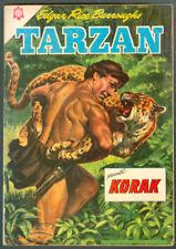 TARZAN # 156 PRESENTA KORAK ORIGINAL SPANISH MEXICAN COMIC NOVARO 1964