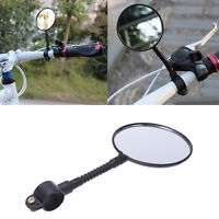 BICYCLE MOBILITY ROUND HANDLEBAR MIRROR GLASS MOUNTAIN ROAD BIKE
