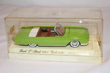 Solido, 1961 Ford Thundebird, Green, 1/43 Scale with Box