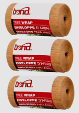 3~ Bond 20' TREE WRAP 350 Brown Support Stretch Prevent Bark Split Insect Rodent