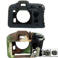 Protective Soft Silicone Armor Skin Case Camera Cover for Nikon D7000 D7200 Camo