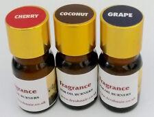 Essenza Fragranza x 3 bottiglie (COCCO Cherry uva) concentrato 100%
