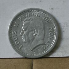 Monnaie monaco 1 franc alu sans date ( 3 )