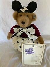 Annette Funicello Collectible Bear Mouseketeer Bear Girl Limited Edition