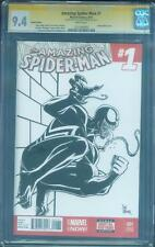 Amazing Spider Man 1 CGC 9.4 SS Kramer Original art Venom Movie Sketch no 8