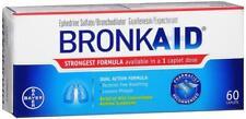 Bronkaid 60 Caplets Relief of Asthma Congestion Symptom 2018