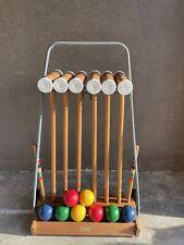 New listing vintage forster croquet set