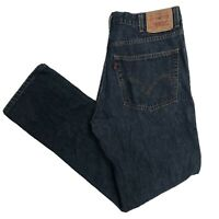 LEVIS 512 Mens Slim Fit W36 L34 Blue Jeans (P421)