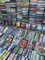 100 Dvd Lot Kids/Family Tv Shows, Cartoons, Disney, Pixar, Nick Jr. PBS & More