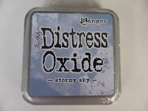 *NEW* (Ranger) TIM HOLTZ Distress OXIDE *STORMY SKY* (Full Sized Ink Pad)