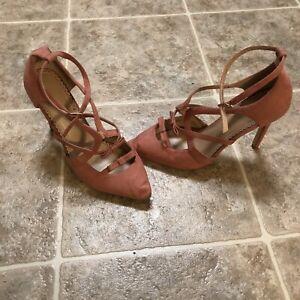 Women's High Heel Shoes. Pink. Size 11