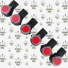VAUXHALL ASTRA K MK7 2016-ON Authentique Lot de 6 PARKING Capteur PDC en rouge 13483777